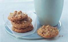 Crunchy Pecan Cookies. Gluten free. Also good for Passover.