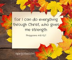 When you don't feel well, it can be difficult to get up, get dressed, and go to work. But whatever God is calling you to do today, He will give you the strength to do it! Give It To Me, How To Get, Give Me Strength, 21 Days, Do Everything, Going To Work, Feel Better, Pray, Christ