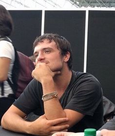 Josh Hutcherson at New York Comic con 10/6/17 promoting Future Man