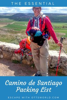 The Essential Camino de Santiago Packing List For Pilgrims Hiking Tips, Hiking Gear, Backpacking Tips, Travel Advice, Travel Guides, Travel Pics, Travel Articles, Travel Items, Ibiza