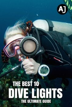 Want to go night diving or explore those cracks and swim throughs during the day? Check out the best 10 dive lights and find the model you need.
