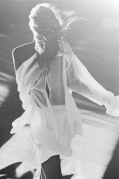 sheer | white sheer | light | lovely | soft | walk | photography | art | beautiful | love | fashion | black & white