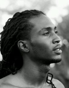 First off, he's gorgeous. Second his dreads look great.
