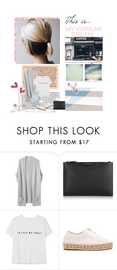 """Sin título #958"" by nbl1593 ❤ liked on Polyvore featuring Organic by John Patrick, Givenchy, MANGO and Alexander Wang"