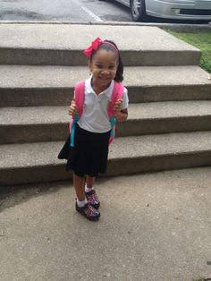 Her first day!!