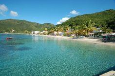 Plage de Grande Anse d'Arlet à la Martinique