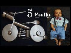 Baby Boy Photography, Photoshoot Ideas, Baby Photos, Corner, Snoopy, Baby Shower, Bike, Simple, Youtube