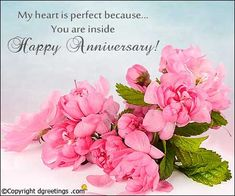 Anniversary Messages Anniversary Wishes Quotes, Anniversary Wishes For Couple, Happy Marriage Anniversary, Anniversary Message, First Anniversary, Wedding Anniversary Cards, Wedding Wishes, Bouquet Images, Spring Wedding Bouquets