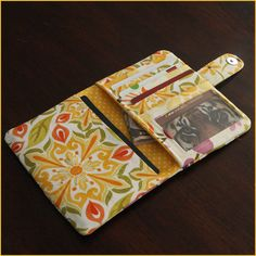 The Traveler Passport Wallet sewing pattern