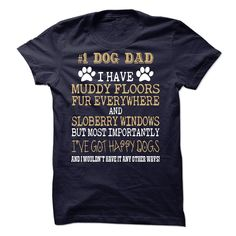 No 1 Dog Dad T Shirt, Hoodie, Sweatshirt