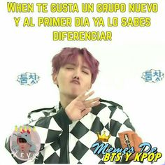 """Lo que nunk me wa a pasar :""""v Bts Memes, Funny Kpop Memes, Grupo Nct, How To Cure Anxiety, Drama Memes, Army Love, Spanish Memes, I Love Bts, Funny Love"""