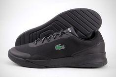 c6dbb0b8a65e49 Lacoste LT Spirit 117 2 SPM 7-33SPM1027024 Black Textile Shoes Medium (D M)  Men