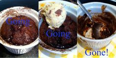 Dig in to Sacred Grounds' amazing Self-Saucing Coffee Chocolate Puddings. Recipe here...