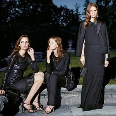 The Gossip Wrap-Up!: Ad Campaign: Tory Burch Holiday 2013