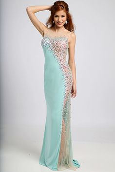 Jovani Fitted Long Prom Dress 92759