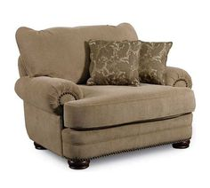 Lane Furniture - Stanton Stationary Chair in Tan - 863-16-Tan