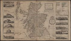 The north part of Great Britain called Scotland : with considerable inprovements [sic] and many remarks not extant in any map, according to the newest and exact observations · Moll, Herman, d. 1732 · ca. 1730] · Albert and Shirley Small Special Collections Library, University of Virginia.