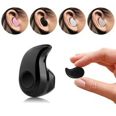 Bluetooth Earphone Mini Wireless Earpiece Cordless Hands free Headphone Blutooth Stereo ear Auriculares Earbuds Headset Phone #Affiliate