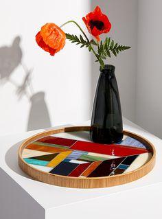 Le plateau en mosaïque de verre | Marylène Ménard | | Simons