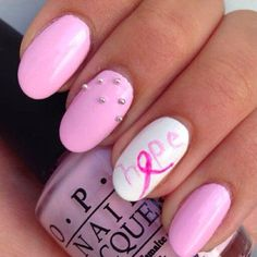 In honor of Breast Cancer Awareness month, I found the cutest nail ideas to help support breast cancer awareness and research. Early detection is also extremely important so check out this quick 5-step cancer check you can do at home!