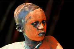 omo tribe body painting - Google Search