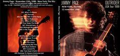 http://custard-pie.com Jimmy Page John Miles on Outrider tour ジミー·ペイジ、ニューヨーク、リッツ、1988年11月12日(海賊版 -  2012 Bootradrアップロード - ラベルなし) -  TTTTT