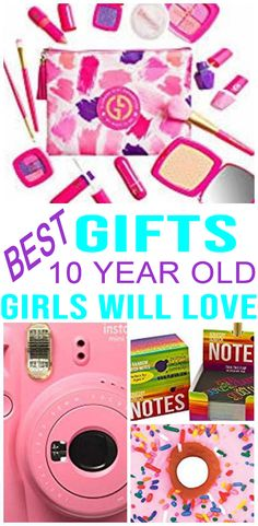 Best Gifts 10 Year Old Girls Will Love Makeup Ideas makeup ideas for 9 year olds 9 Year Old Girl Birthday, Birthday Greetings For Daughter, Birthday Presents For Girls, 10th Birthday, Birthday Ideas, Husband Birthday, 10 Year Old Girls Room, 10 Year Old Boy, Sleepover Birthday Parties