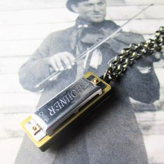Harmonica Necklace now featured on Fab.