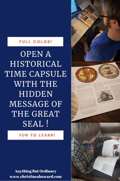 Unlock history by reading The Hidden Message of the Great Seal. Non Fiction Novels, Historical Fiction, National Treasure Movie, Hidden Mystery, Types Of Books, Home Schooling, Time Capsule, Founding Fathers, Nonfiction