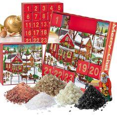 Adventskalender- Salze der Welt Puzzle, Shops, Salts, Advent Calenders, World, Puzzles, Tents, Retail, Retail Stores