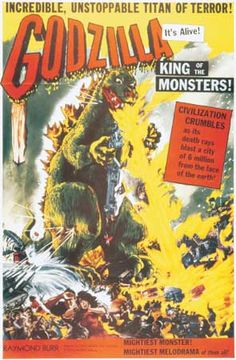 Godzilla, Japanese horror film, released in 1954, that was directed and cowritten by Honda Ishirō and features innovative special effects by Tsuburaya Eiji. The landmark film was a sensation at the box office and...