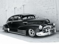 1948 Chevrolet Fleetline - such a fantastic classic car. #vintage #1940s #cars