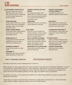 photo about Pf Changs Printable Menu named 11 Simplest Dining places in just the San Fernando Valley visuals inside of