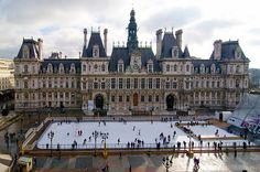 Visit Hotel de Ville, the administrative offices for the City of Paris