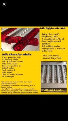 Jello shots Waffle Stick Pan Recipe, Waffle Pan, Waffle Sticks, Waffle Recipes, Pampered Chef Party, Pampered Chef Recipes, No Yeast Bread, Bread Food, Bread Baking