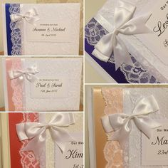 I made these guestbooks yesterday all text is totally customisable & only 18.50 from my website: Ahoydesigns.co.uk  lots of ribbon colours to choose from too! #wedding #guestbook #brides #weddinginspiration #weddingday #diy #bespoke #crafty #personalised #engaged #gettingmarried #newlyengaged by ahoydesignsuk