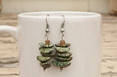 Hey, I found this really awesome Etsy listing at https://www.etsy.com/listing/190908243/green-stone-earrings