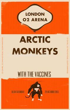 Arctic Monkeys - Marinko Milosevski Illustration and Design