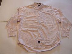 GAP Men's Shirts Size-XL Pink Very Good!  #Gap #ButtonFront