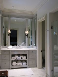 guehne-made - kansas city | home remodeling | home styling | custom woodworks | custom furniture: gray bathroom vanities