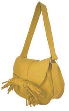 Wool Felt designer handbag sewing pattern
