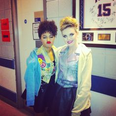 Perrie and Leigh-Anne! Mixers HQ x