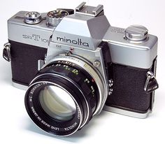 Minolta, this is my old friend and favorite 35mm camera, I have many others too
