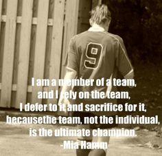 Motivational Soccer Mia Hamm Quotes | Quote Addicts Key Quotes, Girl Quotes, Quotes To Live By, Quotes Women, Motivational Quotes, Mia Hamm, Soccer Motivation, Basketball Quotes, Soccer Tips