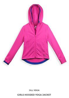 www.jillyoga.com Yoga Girls, Fall 2015, Athletic, Zip, Jackets, Fashion, Down Jackets, Moda, Athlete