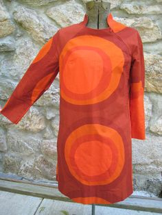 MARIMEKKO VINTAGE RETRO Dress FINLAND 1967