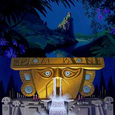 """disneywithag: """" Scenegasms the Emperor's New Groove """" Disney Background, Animation Background, Environment Concept Art, Environment Design, Research Images, Emperors New Groove, Landscape Concept, Game Concept Art, Visual Development"""
