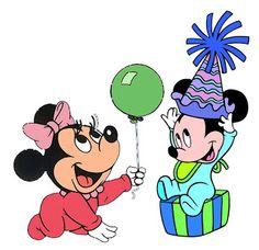 Baby Disney Unisex - Kit Completo com molduras para convites, rótulos para guloseimas, lembrancinhas e imagens! - Fazendo a Minha Festa