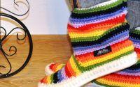 Cizmulite crosetate de strada Uki-Crafts - UKIcrafts | Crafty