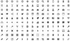 Gemicon, impresionante megapack gratuito con más de 600 iconos en PNG y PSD #Icons